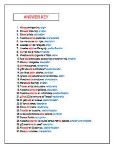 22 Best Ser Vs Estar Images Spanish Class Spanish Teacher