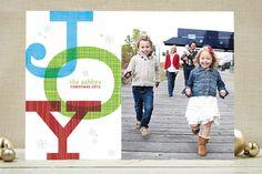 Retro Joy Holiday Photo Cards by robin ott design at minted.com