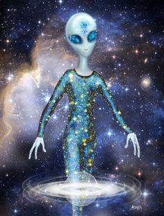 Also Extraterrestrial communications through astral and bi-location realities. Aliens And Ufos, Ancient Aliens, Alien Queen, Spiritual Warrior, Alien Concept Art, Alien Abduction, Alien Races, Alien Art, Sci Fi Art