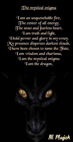 The mystical enigma Dragon Fantasy Myth Mythical Mystical Legend Dragons Wings Sword Sorcery Art Magic Drache dragon drago dragon Дракон drak dragão Magical Creatures, Fantasy Creatures, Fantasy Dragon, Fantasy Art, Fantasy Quotes, Dragon Quotes, Dragon Poems, Dragon Book, Pet Dragon