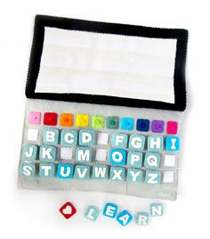 Learn and Play with the Learning Laptop quiet book
