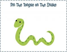 pin the tongue on the snake makes the perfect game for a creepy, crawly party! and it was featured as 'pick of the week' on @Project Nursery | Junior