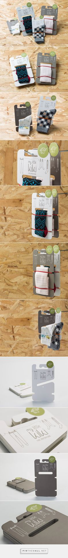 My little Kiki by Maria Romanidou Scarf Packaging, Cool Packaging, Brand Packaging, Uni Bag, Packing Clothes, Funky Socks, Branding, Designer Socks, Packaging Design Inspiration