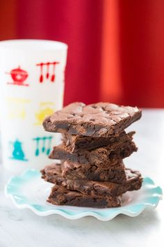 Chewy Double Chocolate Chip Cake Mix Cookies are fast, easy and seriously delicious! Make these when you are looking for a fast chocolate fix!