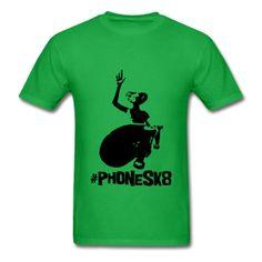 @roswellboutique E.T. Phone sk8 T-Shirt  Classic-cut standard weight t-shirt for men, 100% pre-shrunk cotton, Brand: Gildan   Details    E.T. Phone sk8  #ETphoneHome #ETextraterrestrial #sk8 #skate #skatebord #alien #ufo #mode #fashion #tshirt