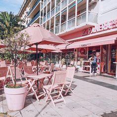 """24.9 mil curtidas, 256 comentários - Lu Ferreira (@chatadegalocha) no Instagram: """"A esquina mais rosa da cidade! La Panera Rosa, lugar gostoso pra comer um docinho """""""