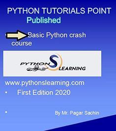 Amazon.com: PYTHON BASICS CRASH COURSE: PYTHON TUTORIALS POINT COURSE eBook: pagar, sachin: Kindle Store Page Flip, Kindle App, First Video, You Videos, Machine Learning, Python, Ebooks, Tutorials, Amazon
