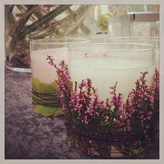 Decorative jar candles
