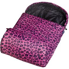Wildkin Leopard Stay Warm Sleeping Bag Liked On Polyvore