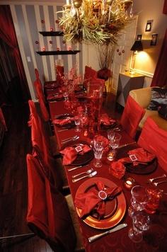 table decor  #Christmas
