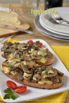 Bruschette ai funghi e brie by MentaeCioccolato, via Flickr