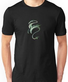 Chinese Dragon (color) Unisex T-Shirt