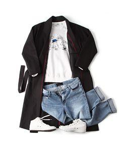 오버사이즈 벨티드 롱코트(오버핏)-coat29 - [존클락]30대 남자옷쇼핑몰, 깔끔한 캐쥬얼 데일리룩, 추천코디