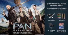 Ayuda a #Pan a encontrar los objetos perdidos y gana premios de Nunca Jamás ⏩ #PanYCinesaANuncaJamás