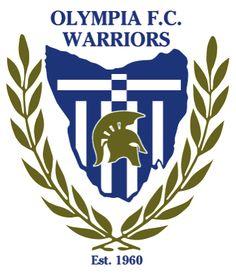 1960, Olympia FC Warriors (Warrane, Australia) #OlympiaFCWarriors #Warrane #Australia (L18566)