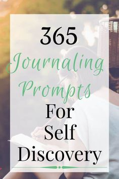 Easy journaling prompts for self discovery. Questions for self discovery and personal development. Easy writing prompts for beginners. Journal Prompts For Adults, Daily Journal Prompts, How To Journal, Junk Journal, Happy Journal, Journal Topics, Goal Journal, 365 Questions, Journal Questions