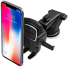 The best hands free phone mount! iOttie Easy One Touch 4 Dashboard & Windshield Car Phone Mount Holder for iPhone Xs Max R 8 Plus 7 SE Samsung Galaxy Edge Note 9 & Other Smartphone Iphone Car Mount, Iphone Car Holder, Cell Phone Car Mount, Cell Phone Holder, Phone Cases, Iphone Phone, Tablet Holder, Phone Diys, Phone Clip