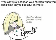 Oh Lusamine, you make my blood boil.