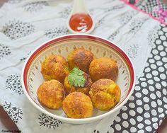 Potato bread ball/rolls recipe -easy low fat snack recipes