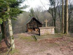 Ballades près de chez moi...Chapelle Saint Fridolin où a été baptisé Robinson...