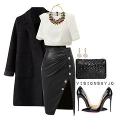 """Untitled #1457"" by visionsbyjo on Polyvore featuring Maticevski, Christian Louboutin, Etro, women's clothing, women's fashion, women, female, woman, misses and juniors"