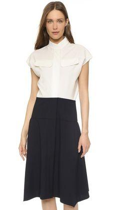 Zero + Maria Cornejo Nadi Shirtdress #Shopbop