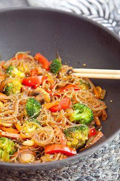 Low Carb Recipes, New Recipes, Vegetarian Recipes, Cooking Recipes, Healthy Recipes, Clean Eating, Healthy Eating, Asian Recipes, Ethnic Recipes