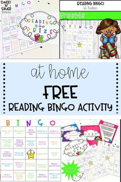 Get your Kindergarten, 1st, 2nd, 3rd, 4th, or 5th grade students to love reading while distance learning with this FREE reading activity! My reading Bingo game is fun and engaging, and it's also a great resource to have students play with their family.