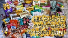 I was overwhelmed by new vegan products from Natural Products Expo East this year :O ! Did anyone else go?