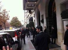 DM leaving the hotel