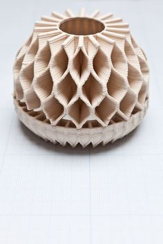 By Unfold, experiments in 3d extrusion printing.: