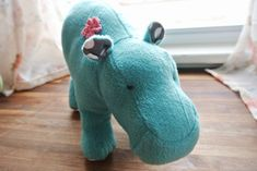 diy stuffed animals! so adorable.