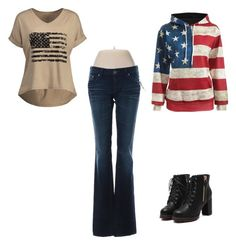 """""""Memorial Day"""" by redroseonasnowybench on Polyvore featuring Big Star and stomp"""