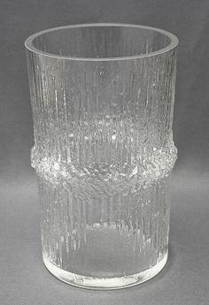 Glass vase, Niva, Tapio Wirkkala