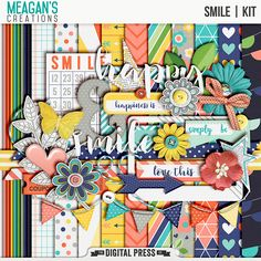 FREE Smile mini kit freebie from Meagan's Creations
