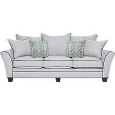 Aberdeen Platinum 7 Pc Living Room -Living Room Sets (Beige)