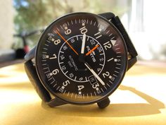 Fortis Flieger GMT PVD