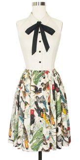 Trashy Diva Veronica Shirtwaist Dress in Birds Of A Feather
