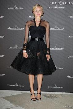 Diane Kruger avec une robe Chanel.