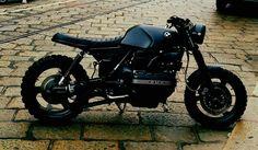 Cafes,tits and other bits. K100 Scrambler, Triumph Scrambler, Bmw Motorcycles, Bobber, Big Boyz, Bmw K100, Moto Bike, Custom Bikes, Cool Bikes