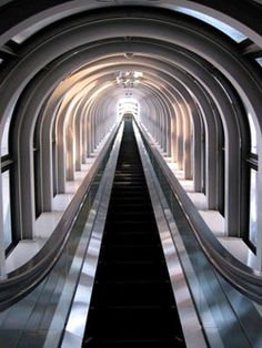The Tallest Escalator in the World