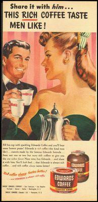 1947 Edwards Coffee Ad
