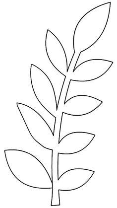 Moldes de folhas para imprimir - Dicas Práticas Paper Flower Patterns, Paper Flower Art, Paper Flowers Craft, Paper Flower Tutorial, Giant Paper Flowers, Felt Flowers, Flower Crafts, Leaf Patterns, Leaf Template