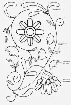 free embroidery pattern