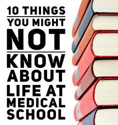 There's so many things you hear about medical school whilst you're applying, and also many things you don't know until you're there. Here are 10 things you probably don't know (unless you're a medical student)...