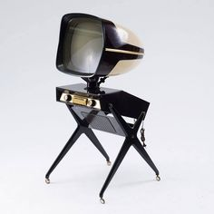 The Most Insane Television Sets in History Teleavia Panoramic III, designed by Philippe Charbonneaux,