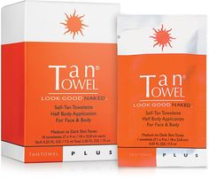 Get a Healthy Tan with Plus Self-Tan Towelette Half Body Application For Face & Body. 10 Towelettes Plus for Medium to Dark Skin Tones by TanTowel. Tan Towels, Best Self Tanner, Best Tanning Lotion, Tanning Products, Tan Body, Dark Skin Tone, Tans, Organic Skin Care, Face And Body