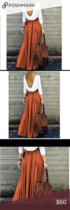 Backless Long Sleeve Maxi Pleated Dress Backless Long Sleeve Maxi Pleated Dress Dresses Maxi