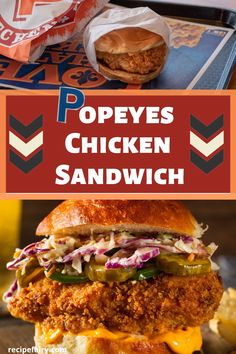 Popeyes Copycat Chicken Sandwich - - We're bringing you a copycat recipe of the phenomenon that swept the nation, popeyes fried chicken sandwich. No need to worry about it being sold out, make it yourself at home. Popeyes Chicken Sandwich Recipe, Popeyes Fried Chicken, Spicy Chicken Sandwiches, Making Fried Chicken, Spicy Chicken Recipes, Dinner Sandwiches, Cuban Recipes, Sloppy Joe, Cheddar