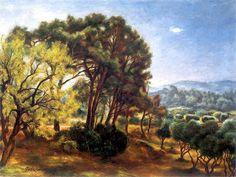 The Athenaeum - Landscape at La Ciotat (Jozef Pankiewicz - )